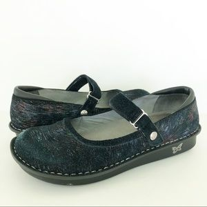 Alegria Belle Raked Garden Mary Jane Comfort Shoes
